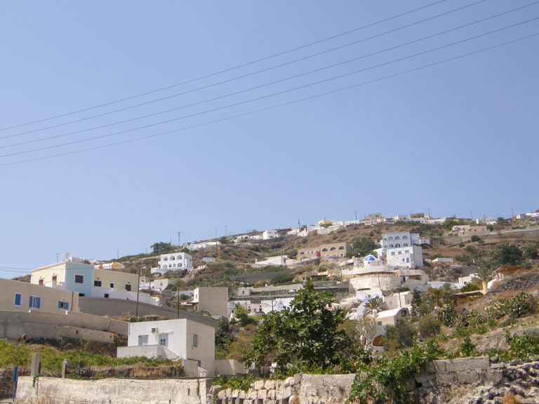 Day Trip to Vourvoulos on Santorini