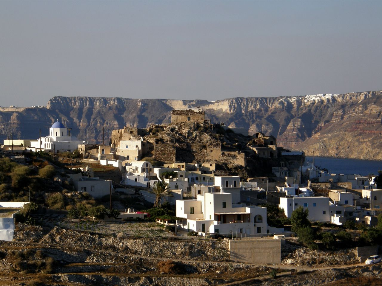 In Santorini Five Castles Worth Traveling For