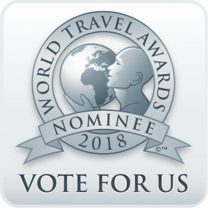World Travel Awards 2018 nominee logo.